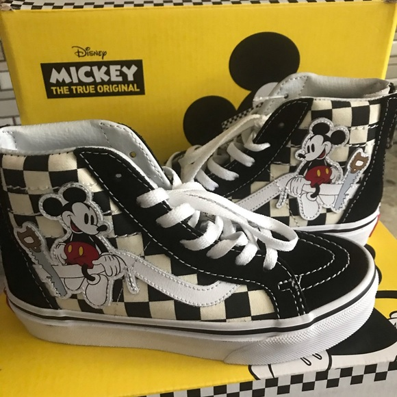 Vans Shoes | Mickey Mouse Vans High Top
